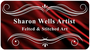 Sharon Wells Felted and Stitched Art