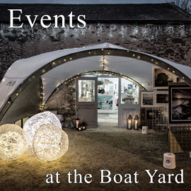 Events at the Boat Yard Gallery