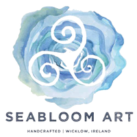 Seabloom Art - Seaglass and Driftwood Wall Art