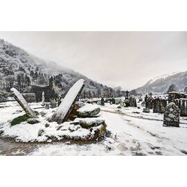 Glendalough Monastic City in Winter