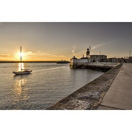Dun Laoghaire Habrour Sunset