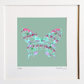 Butterfly Lace - Limited edition fine art print - Hairy Fruit Art