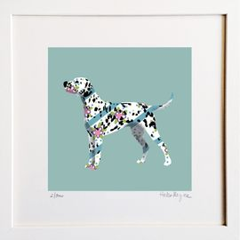 Dalmatian - Limited edition fine art print​ - Hairy Fruit Art