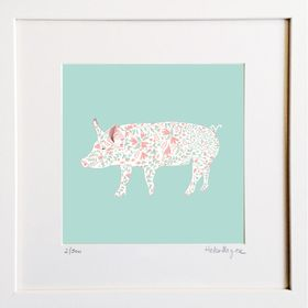 Pig - Limited edition fine art print​ - Hairy Fruit Art